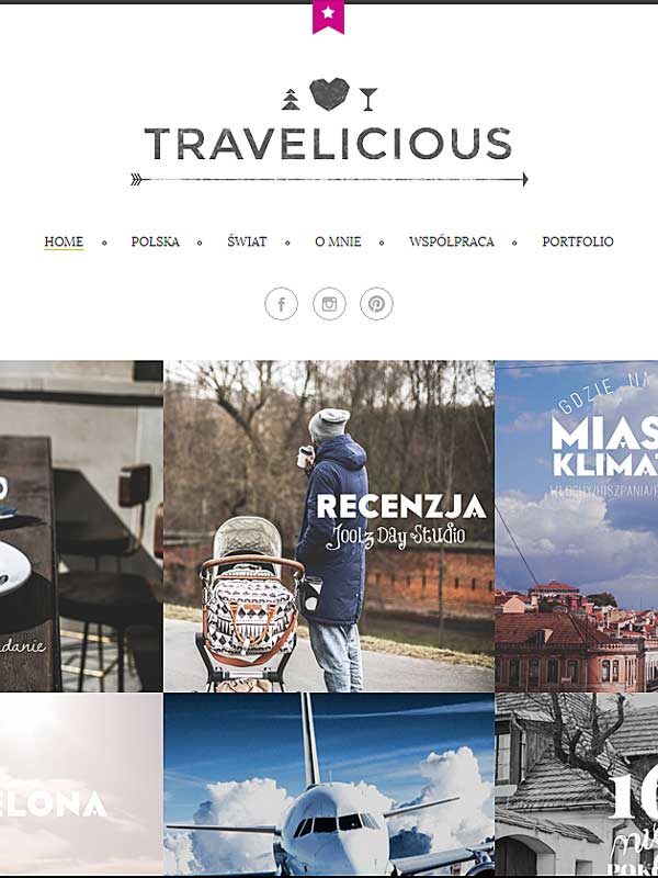 Travelicious artykuł