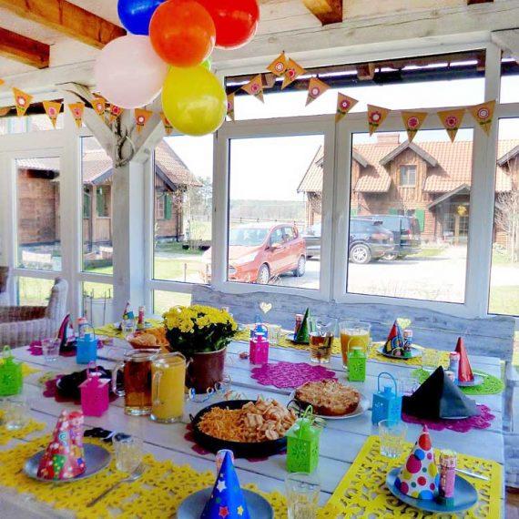 urodziny w Werandzie