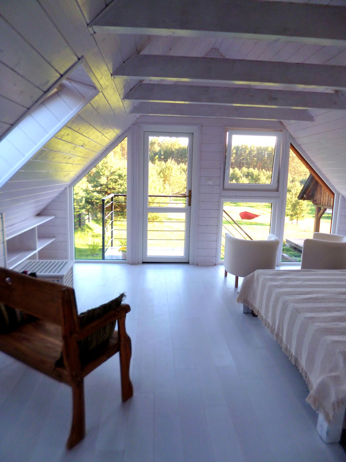 pokój z widokiem - apartament w Koprach