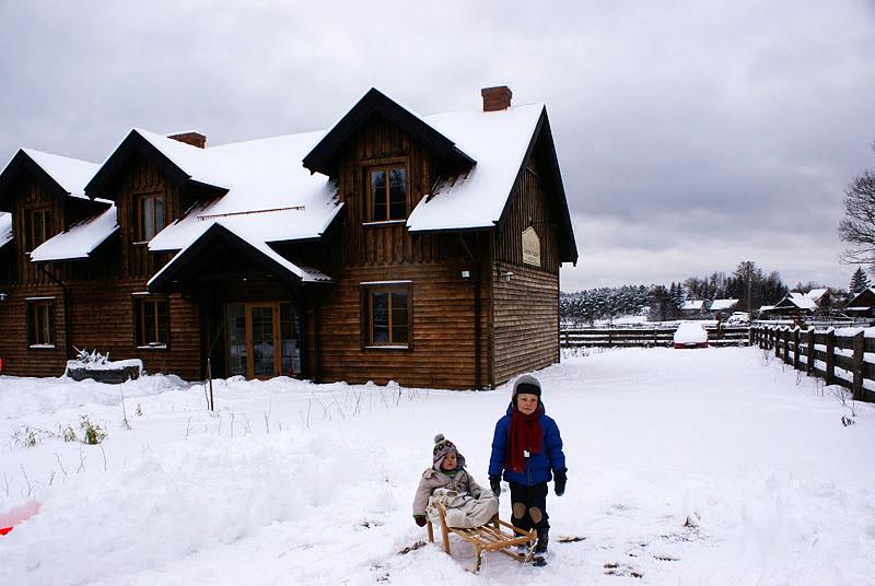 zima w Szuwarach | w Szuwarach jest bajkowo