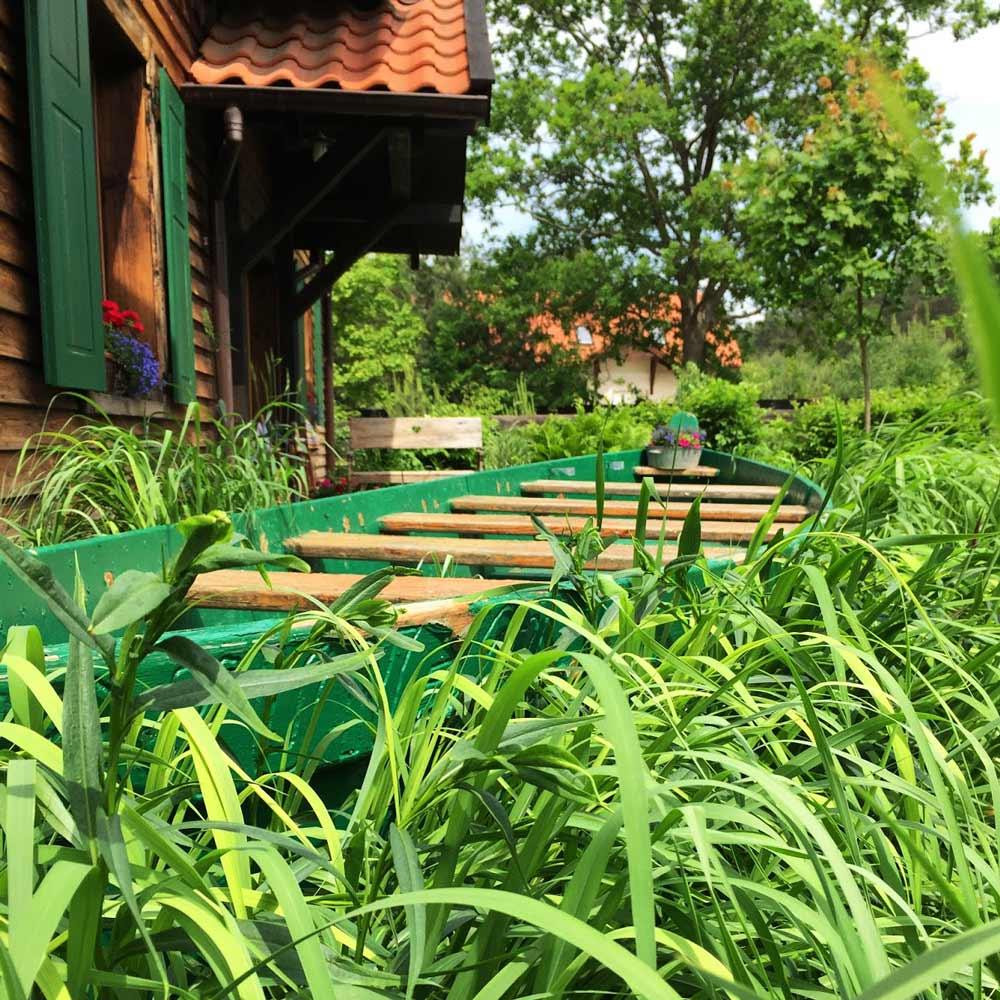 Ogród w Gościńcu Szuwary